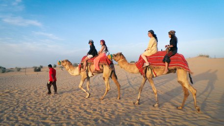 Camel Riding in desert safari