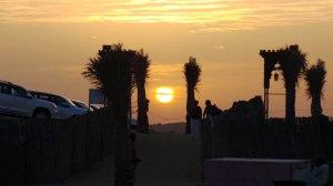 Sunset in Desert Safari