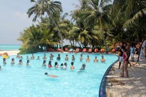 Aqua Gym Pool Games