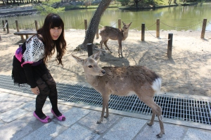 Me with the deers