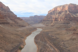 Birdeye view of Grand Canyon from Helicopter