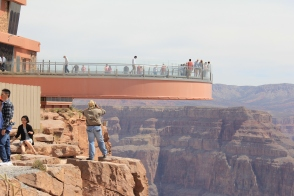 Glass bridge at Eagle Point
