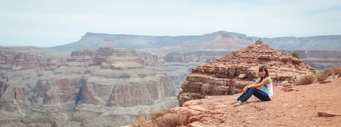 Nu Myat at the Grand Canyon