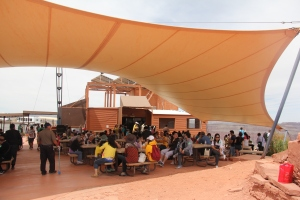 Canteen at the Guano Point