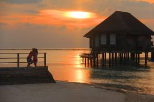 Couple at Sun Rising