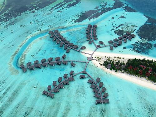 Club Med from bird eye view