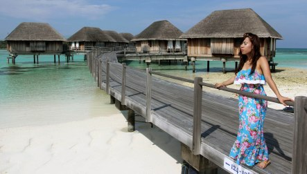 Nu Myat at Club Med Resort, Maldives