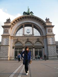 Train station of Lucerne, Switzerland