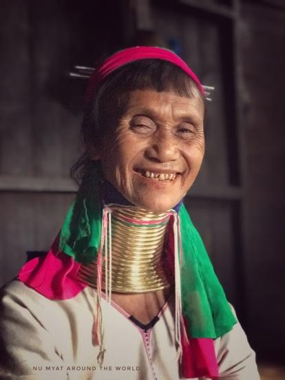 Smile of Kayan lady