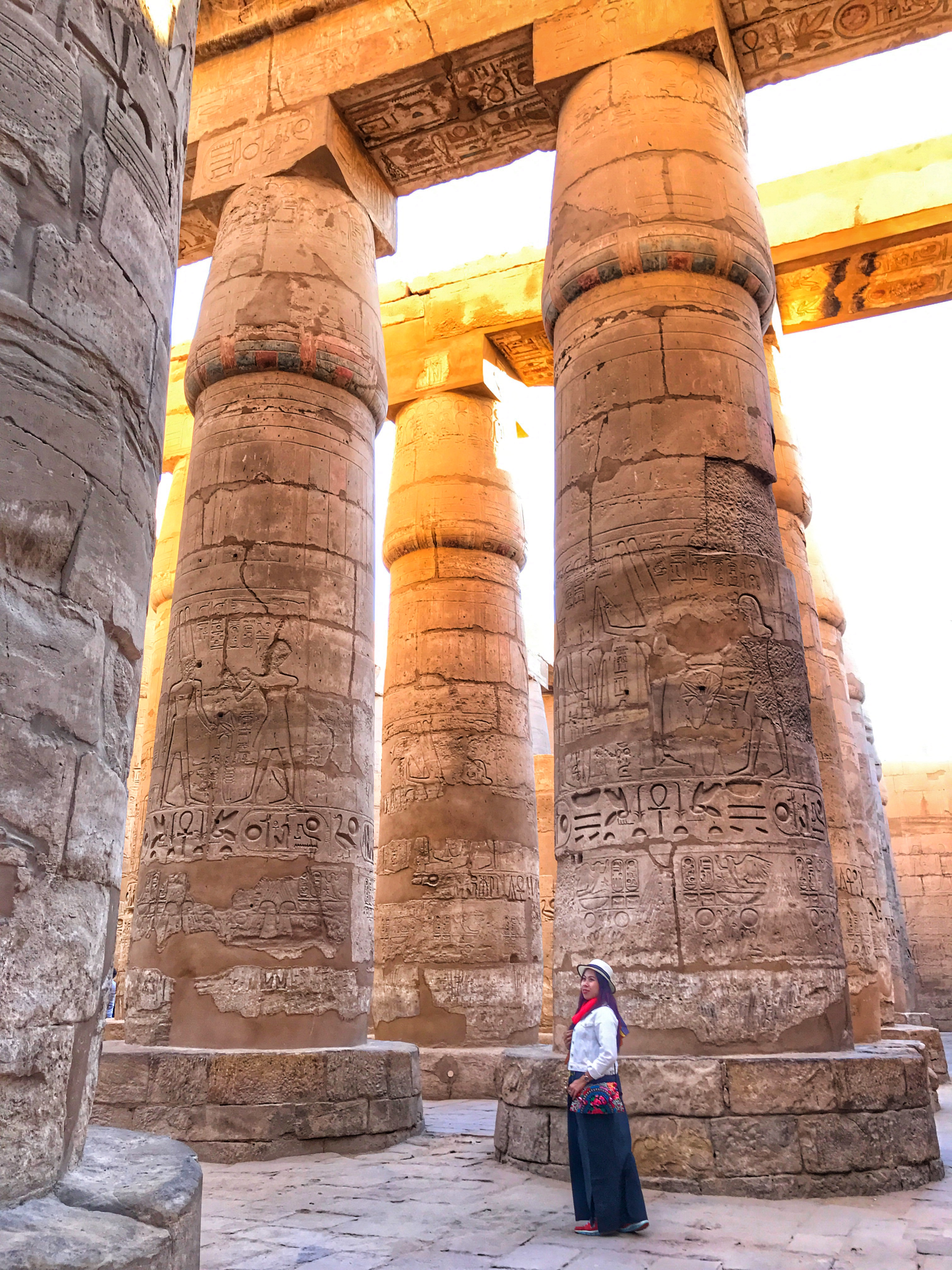 World 2nd Largest Religious Temple, Karnak Temple