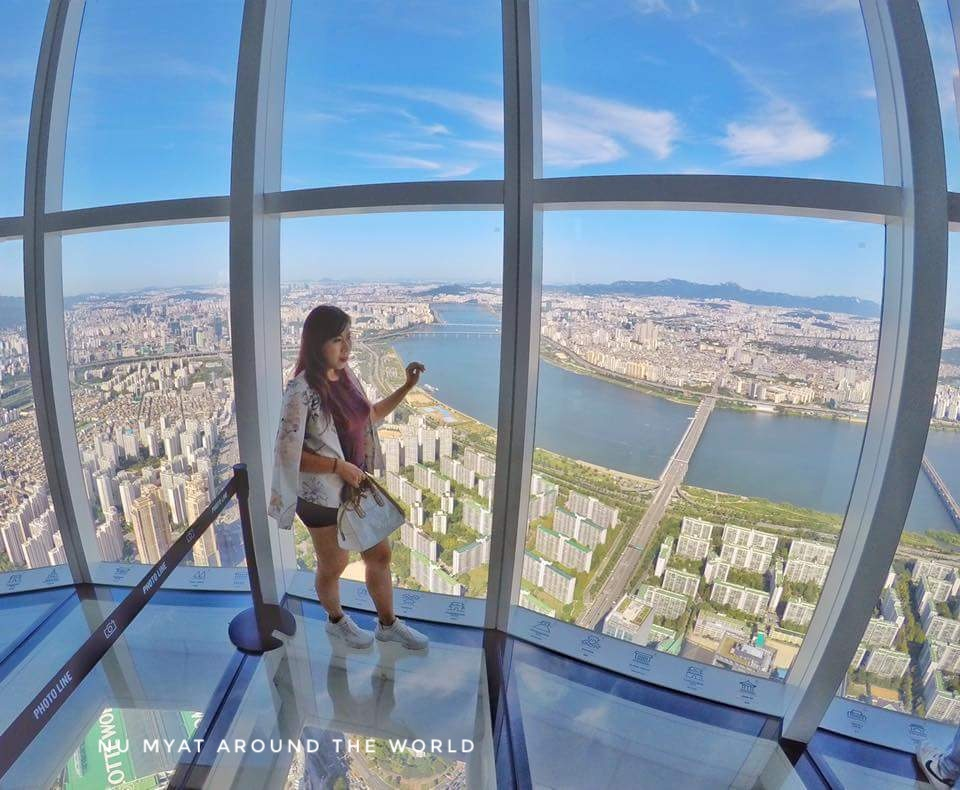 Lotte World Tower, the Highest Glass Floor