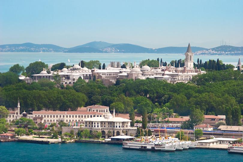 Topkapi Palast, Istanbul, Trkei