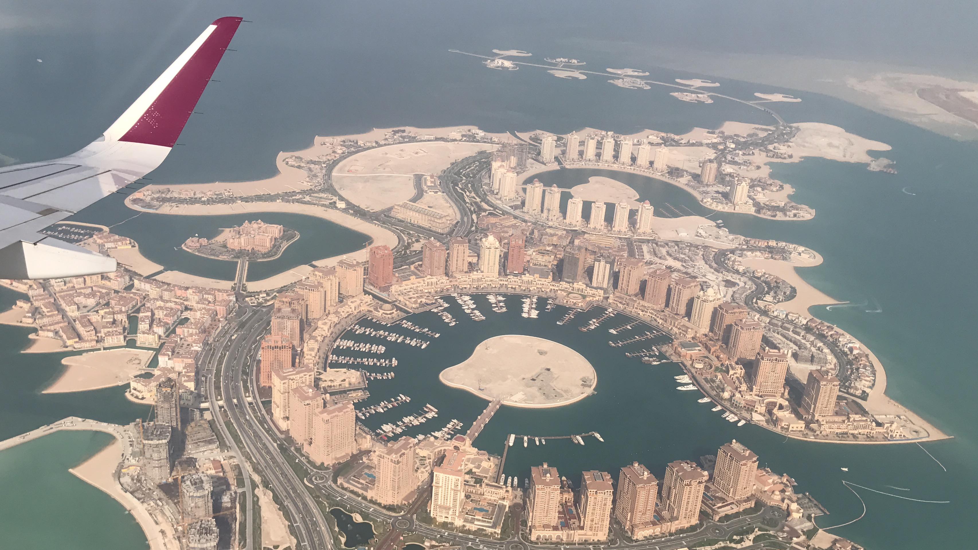 ကန္တာရထဲက မိုးမျှော်တိုက်များနှင့် ချမ်းသာလှသည့် ကာတာနိုင်ငံ (Qatar)