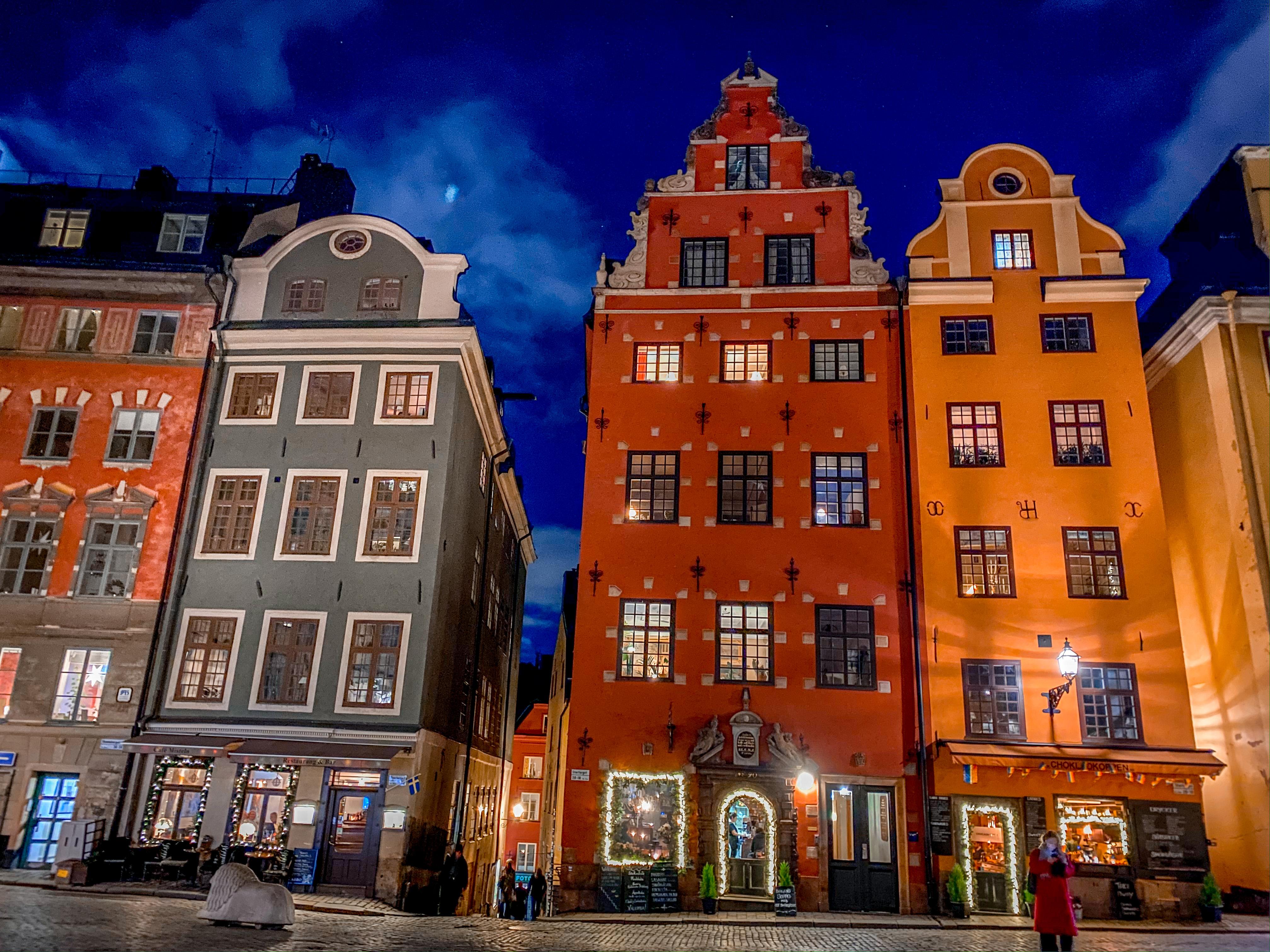 ကျွန်းတွေပေါ်က ဆွီဒင်မြို့တော် စတော့ဟုမ်း